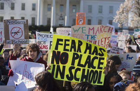 school shooting victim   detention  protesting