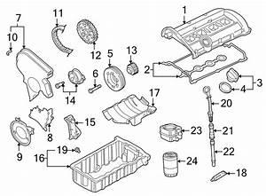2001 Audi A4 Engine Timing Belt Tensioner  1 8 Liter