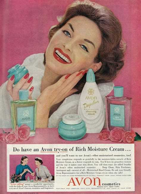 Herbs For Aging Skin | Vintage makeup ads, Retro ads