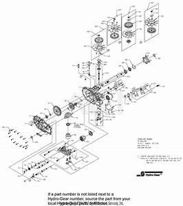 Ariens 915173  045000 -   Zoom Xl 54 Parts Diagram For Transaxle