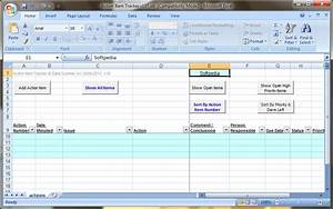 action item tracker template excel excel templates With action item tracker template