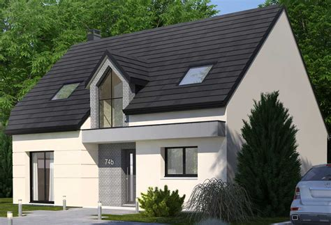 cuisine picarde plan maison individuelle 3 chambres 74b habitat concept