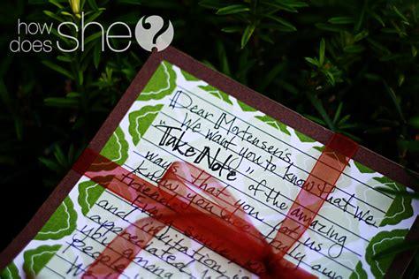 # Neighbor Christmas Gift Idea