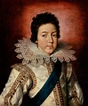 Portrait Of King Louis X I I I, King Of France As A Boy ...