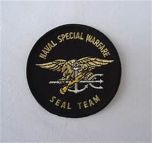 My Navy SEAL patch collection