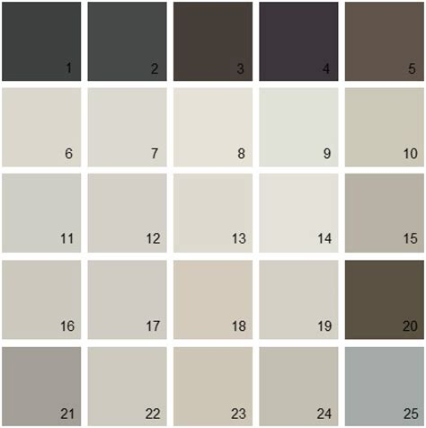 benjamin paint colors neutral palette 24 house