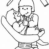 Dentist Drawing Getdrawings Coloring Pages Meticulously Check sketch template