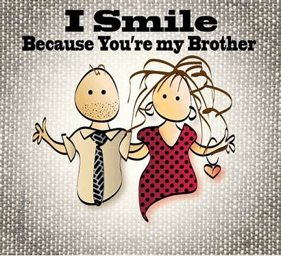 Brother Smile Because Sister Birthday Send Bro