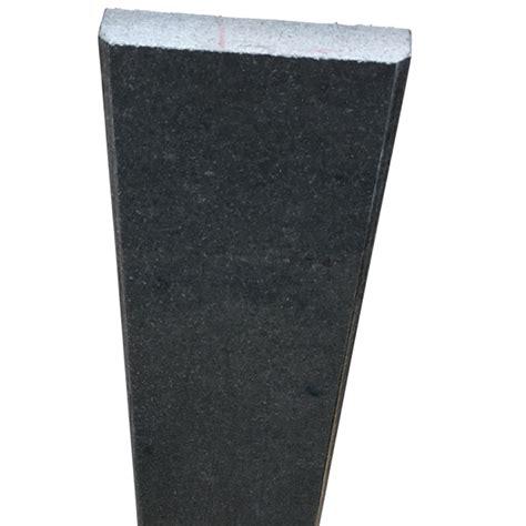 4 x 36 saddle threshold absolute black granite