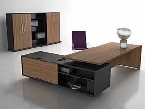 Executive computer table, Office interior design, Computer ...
