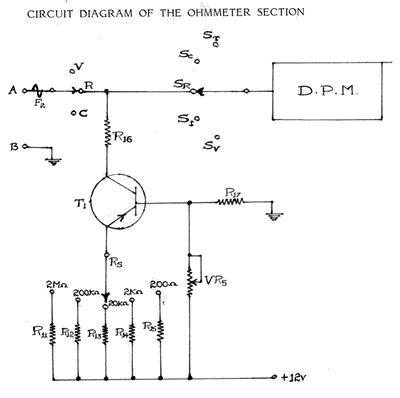 Ohmmeter Simple Resistance Measurement Delabs