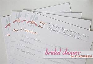blog bridal shower recipe cards template 1277 With bridal shower recipe cards templates