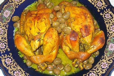 site de cuisine marocaine cuisine marocaine poulet aux olives
