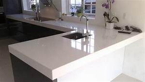 Prix Plan De Travail Cuisine : plan de travail granit ou quartz cuisine naturelle ~ Premium-room.com Idées de Décoration