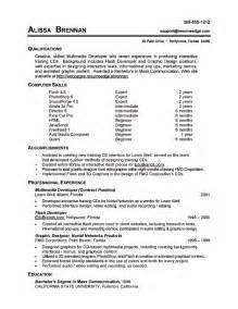Cv Templates Computer Skills Http Webdesign14 Com