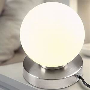 Lampe De Chevet Boule : lampe de table boule lampe de chevet tactile 25 w intensit de la lumi re r glable achat ~ Teatrodelosmanantiales.com Idées de Décoration
