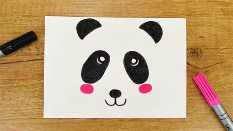 kawaii panda diy niedlichen baeren   minuten malen fuer
