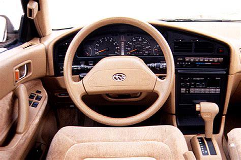 1992 subaru loyale interior 1990 94 subaru legacy consumer guide auto