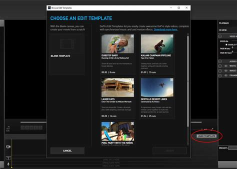 gopro templates how to more gopro edit templates click like this