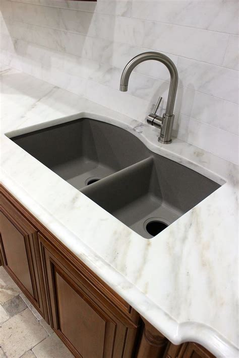 White Marble   Blanco Sink   Granite Composite Sink
