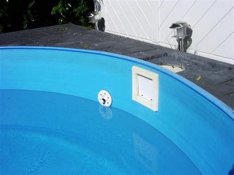 Pool Befüllen Lassen by Einlaufd 252 Se Undicht