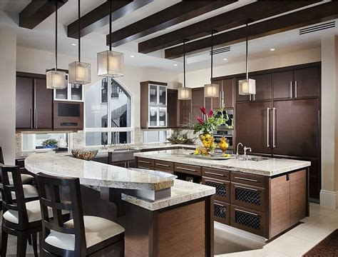 luxury kitchen islands 64 deluxe custom kitchen island designs 3918