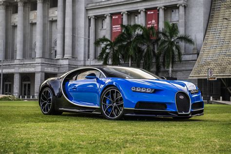 After all, the car needs to be as opulent as it is fast. Bugatti Chiron lands in Singapore but owner can't drive it ...