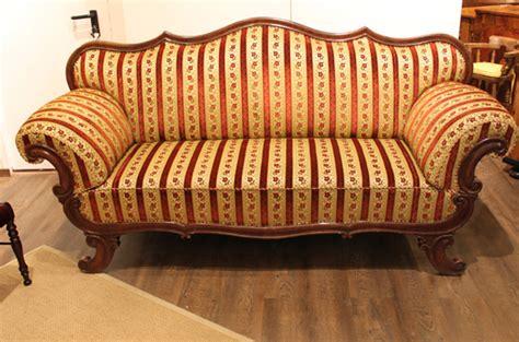Biedermeier Sofa Zu Verkaufen by 123b Biedermeier Sofa Um 1820 Mahagoni Antiquit 228 Ten