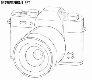 How to Draw a Camera | DrawingForAll.net