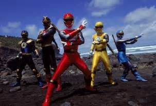 mighty morphin power rangers and friends