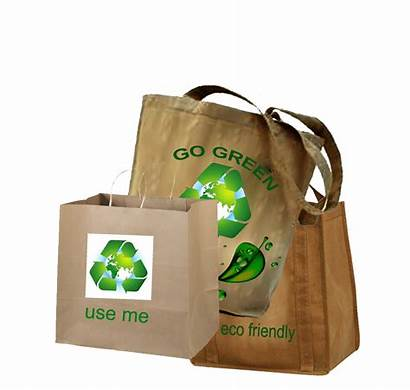 Eco Bags Friendly Shopping Materials Resolutions Happy