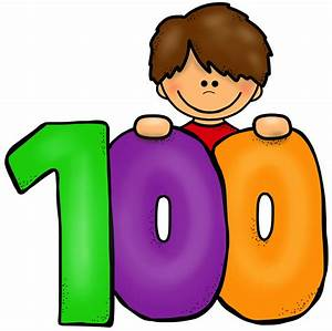 100th Day of School Clipart (68+)