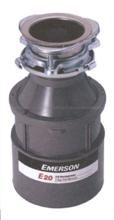 Emerson E20  Food Waste Disposer by Parex ? EBOSS