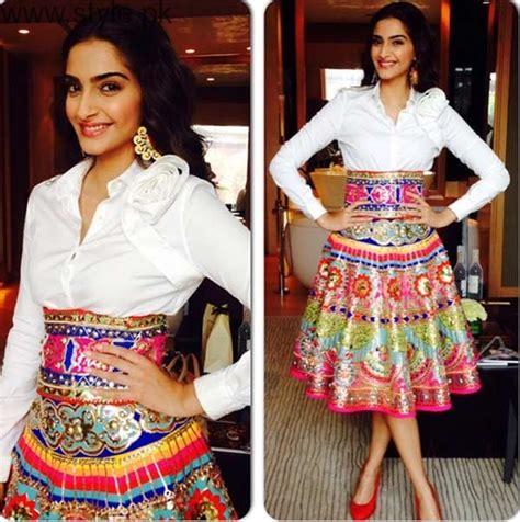 bollywood actress wearing long skirts latest pakistani skirts 2017