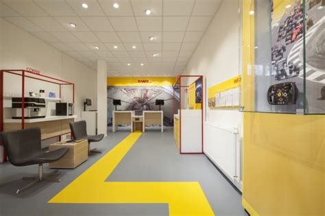 dhl store by tchai international amsterdam netherlands