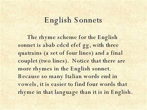 Sonnet - Bing images