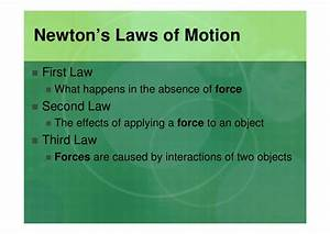 Forces And Newton U0026 39 S Laws