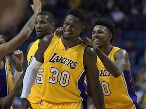 Los Angeles Lakers 2016 17 Regular Season Team Awards