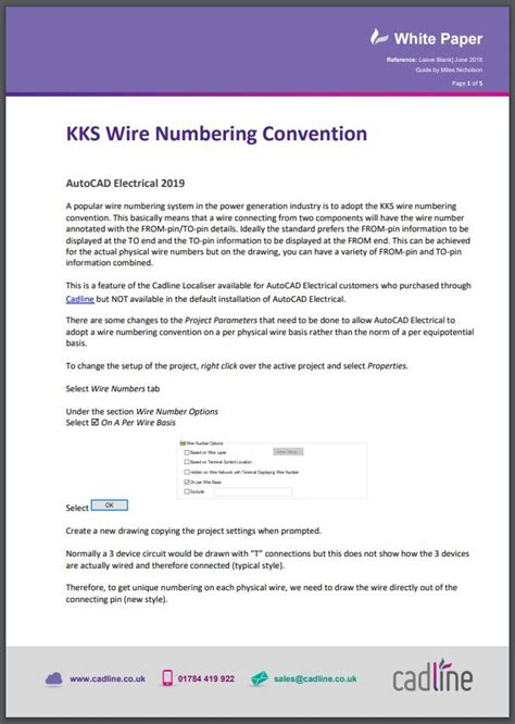 autocad electrical 2019 kks wire numbering convention cadline community