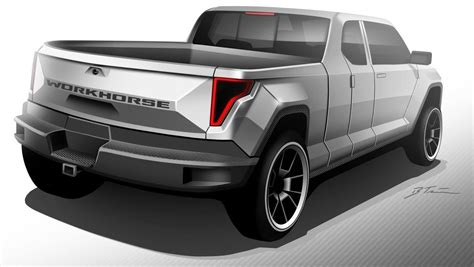 concept work truck workhorse group to unveil w 15 electric pickup truck in