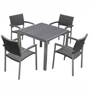 stainless steel table and chairs marceladick