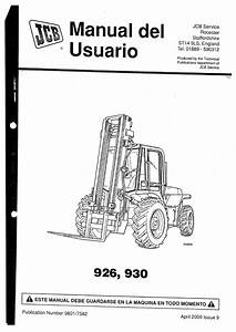 Manual Usuario Jcb 926  930