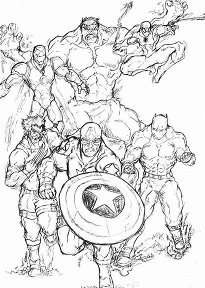 Coloring Avengers Marvel