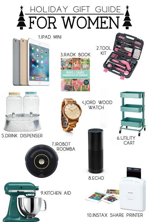 holiday gift guide for women eighteen25