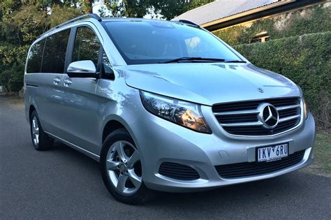 Review Mercedes V Class by Mercedes V Class V220d 2018 Review Carsguide
