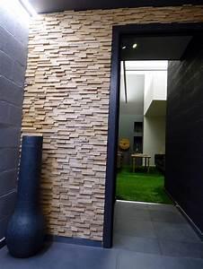 Parement Bois Mural : rev tement bois design et cologique limba classic ~ Premium-room.com Idées de Décoration