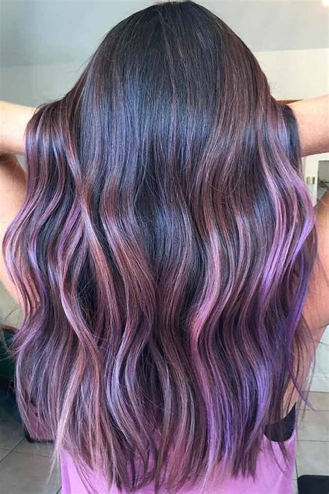 Best 25 Purple Ombre Ideas On Pinterest Purple Balayage