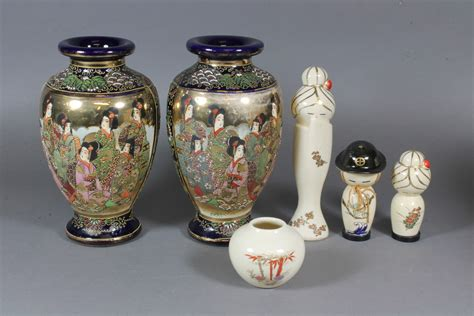 japaneseklimaxpottery  denhams  antique auctions