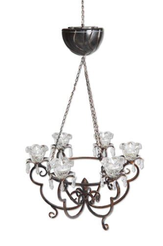 Battery Operated Chandeliers by Exhart Anywhere Lighting Battery Operated Chandelier On