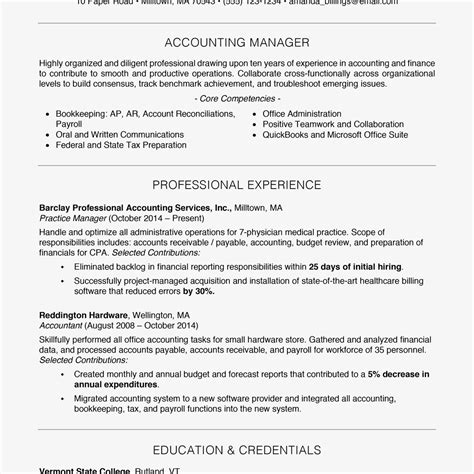 Resume Writing Template by 100 Free Professional Resume Exles And Writing Tips